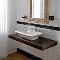 Порцеланов умивалник за баня 04 - Колекция Баттър