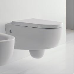 Бяла стенна тоалетна чиния 101 Тиззи